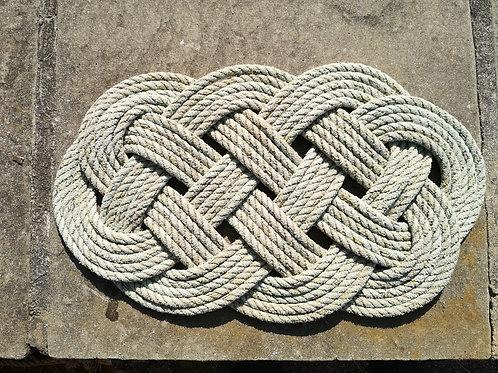 Ocean Plait Mat - Made On St.Agnes