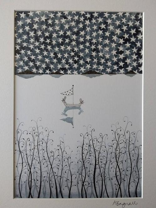 Stars - Print By Alex Bagnall