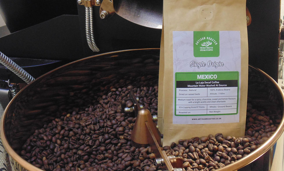 Mexican Organic Decaf Mountain Water Washed - Speciality Coffee