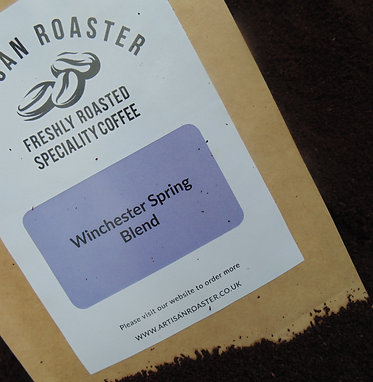 Winchester Spring Blend - Hampshire Speciality Coffee