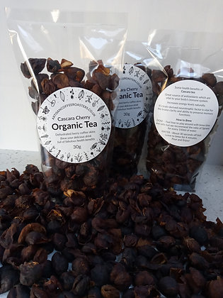 Cascara Organic Natural Herbal Cherry Tea Fruit