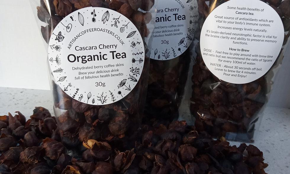Cascara Organic Natural Herbal Cherry Tea Fruit
