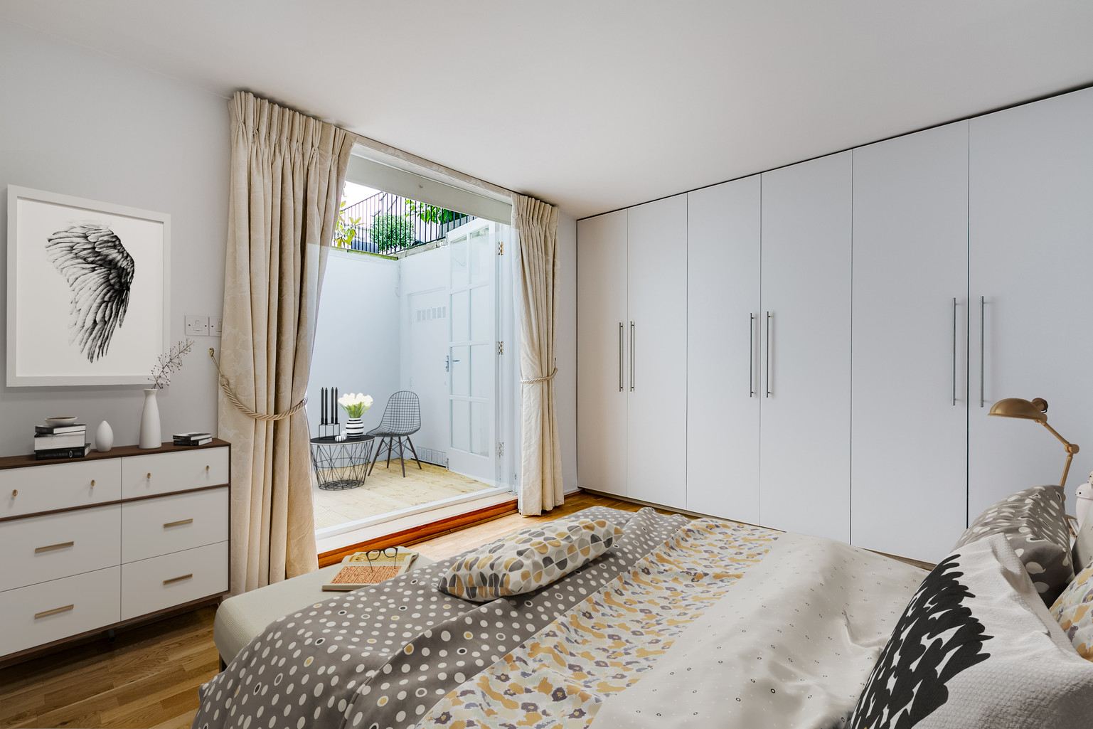 Virtual Staging Bedroom