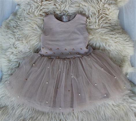 ПЛ60-Ф Платье «Бусинка» БЕЖЕВЫЙ