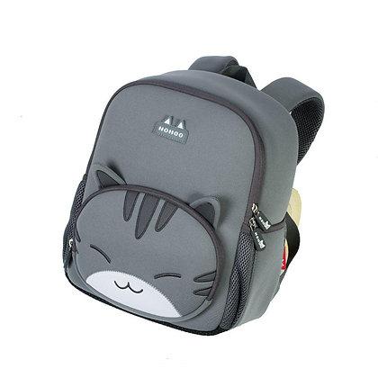 Рюкзак для дошкольного возраста Котик серый