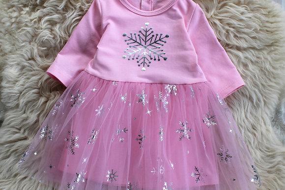 ПЛ106-Ф Платье «Снежинка»