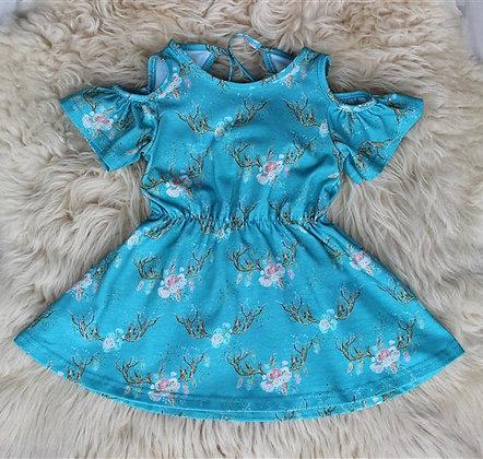 Т61-К Платье «Ладушка» БИРЮЗА