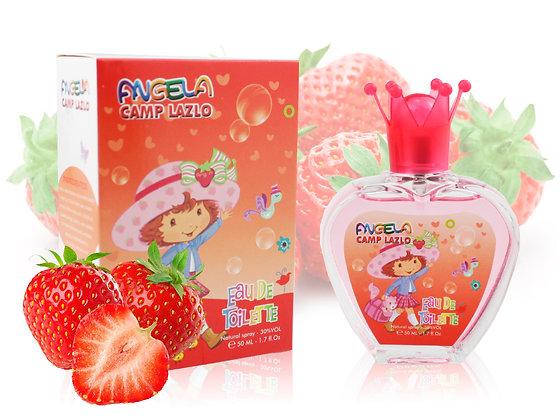 Детский парфюм ANGELA CAMP LAZLO Strawberry, Edt, 50 ml