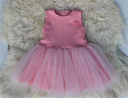 Платье «Брошь» СВЕТЛЫЙ ПЕРСИК I 110, 116