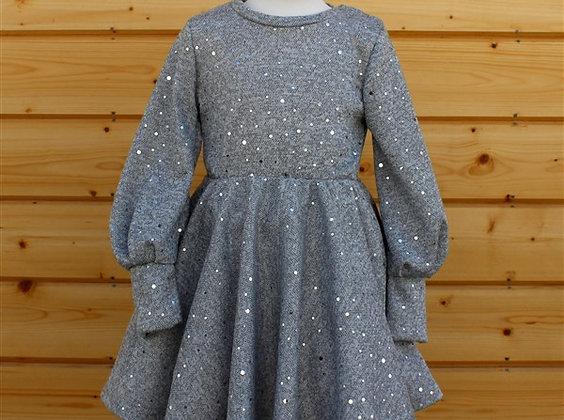 ПЛ72-Ф Платье «Серебро»