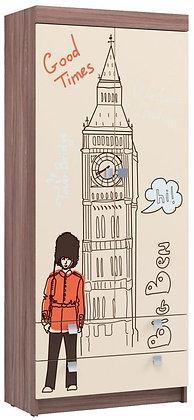 """Шкаф для одежды Детская """"Лондон"""""""