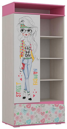 Шкаф для детской АЛИСА-2