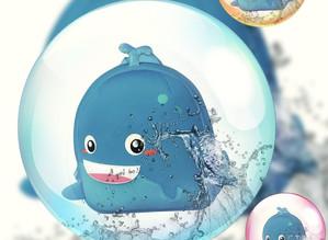 Сказка про кита, китенка и дельфиненка