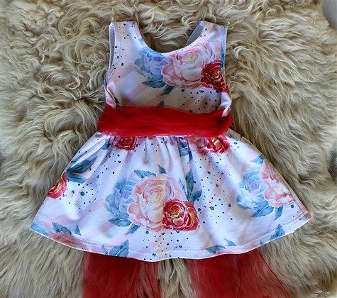 ПЛ5/8-Ф Платье для девочки «Мэрри»
