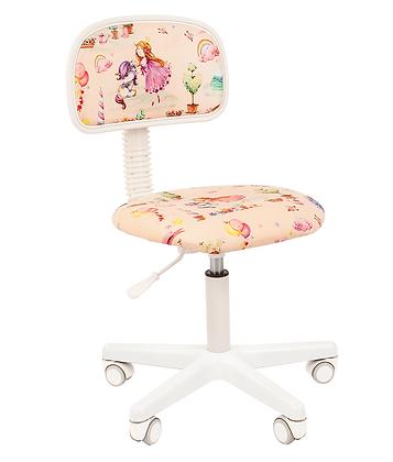 Детское кресло CH KIDS 101 белый каркас/ принцессы