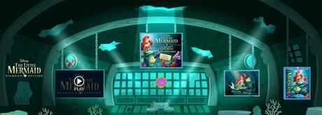 Little Mermaid Interior Game Environment
