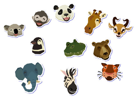World of Zoo Animal Icons
