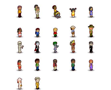 Zoo Kingdom Visitor Characters