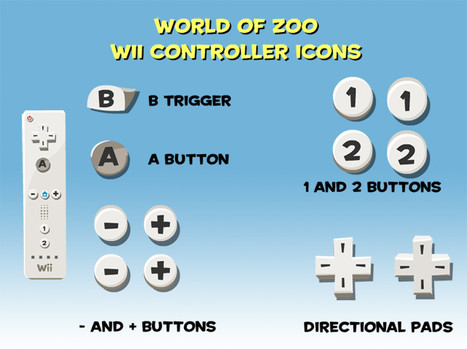 Wii Controller Icons