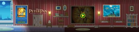 Peter Pan Interior Game Environment