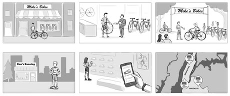 Apple Pitch Storyboards