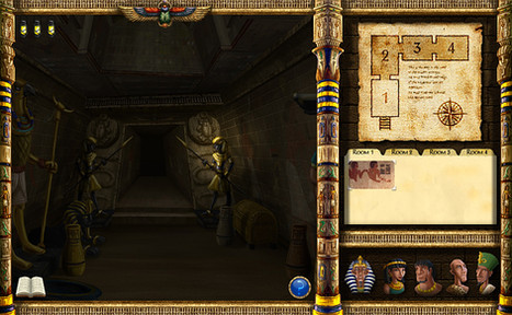Tomb of the Unknown Mummy UI