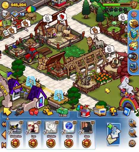 Zoo Kingdom UI