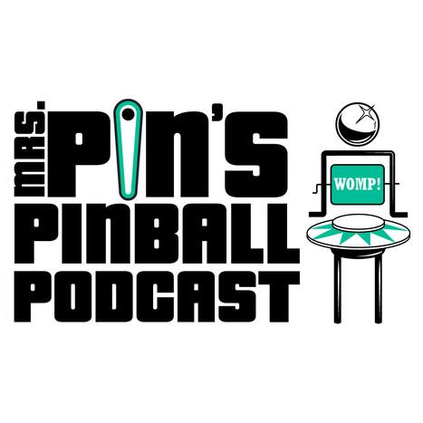 Mrs. Pin's Pinball Podcast Logo