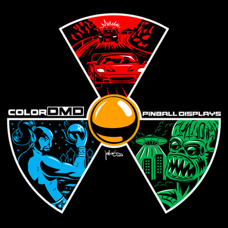 ColorDMD Logo T-Shirt Design