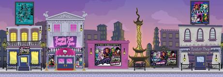 Monster High Interior Game Environment