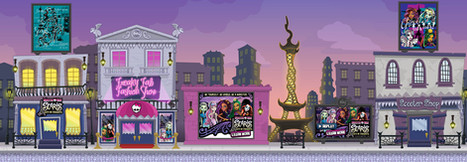 Monster High Interior Game Environment