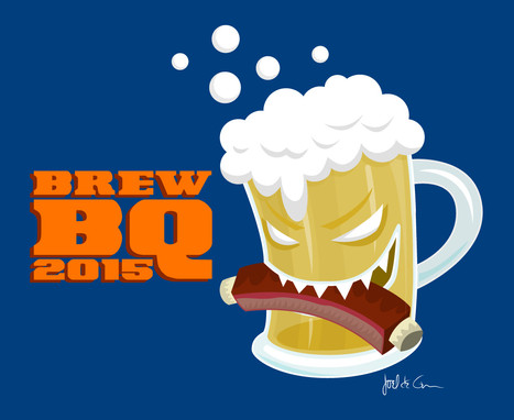 BrewBQ T-shirt Design