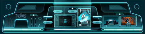Tron Uprising Interior Game Environment