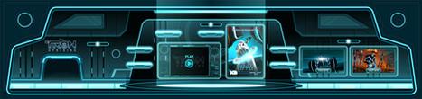Tron Uprising Interior Game Environment
