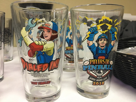 Pintastic Dialed In! Pint Glass