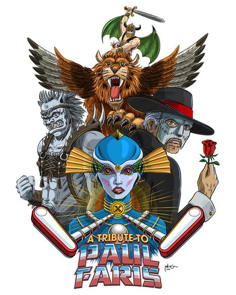 Paul Faris Tribute Poster