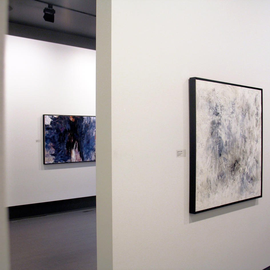 'Lavender' and 'Iridescent Flurries' in Winsor Gallery