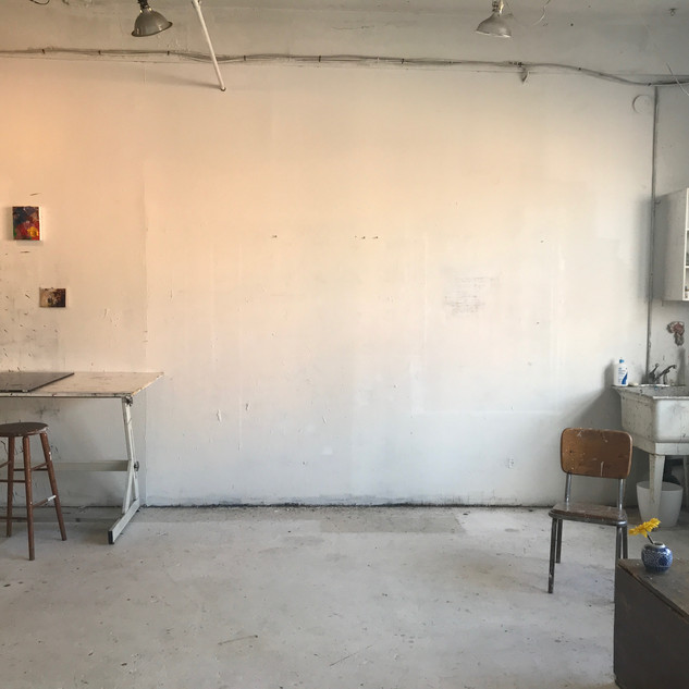another studio wall
