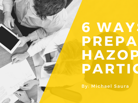 6 Ways You Can Prepare as a HAZOP Participant