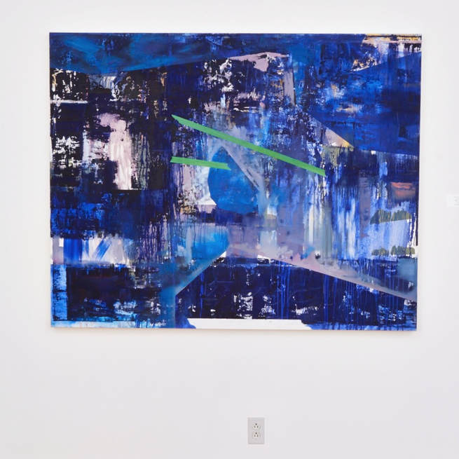 'Blu Luv' in the Act From Your Art exhibition