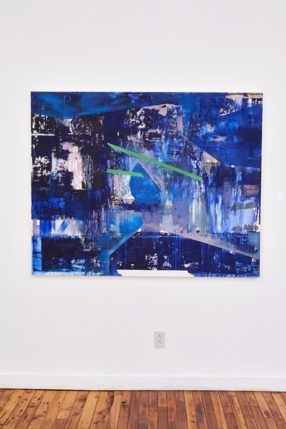 'Blu Luv' in the Act From Your Art exhib