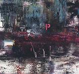 Verona Sorensen's painting serie, Pink Punch Love