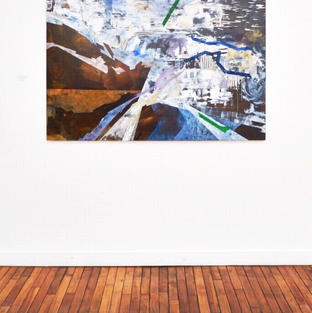 'Urban Writing on Interstellar Walls' in the Act From Your Art exhibition