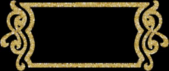 glitterframegold