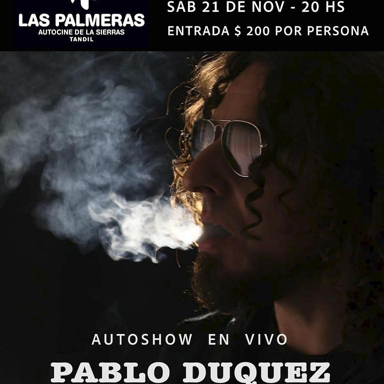 Autoshow en vivo Pablo Duquez