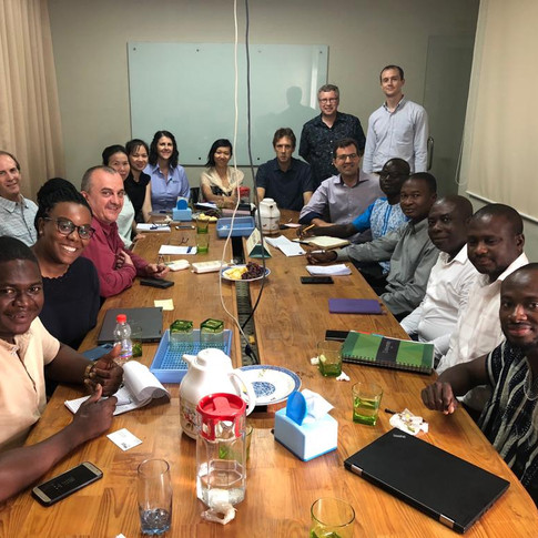 Sanitation Learning Exchange - Ghanaian Government and Cambodia C
