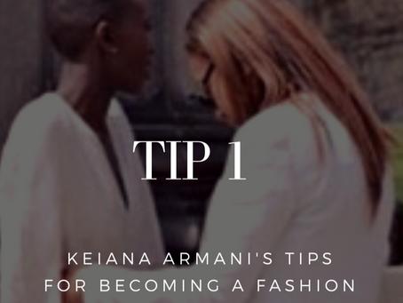 Becoming a Fashion Stylist - Step 1