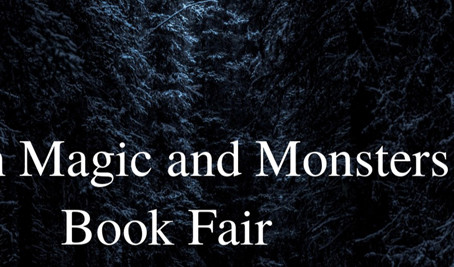 March Magic and Monsters Book Fair