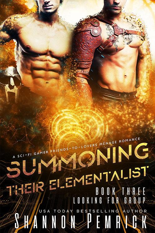 Summoning Their Elementalist - Signed Print