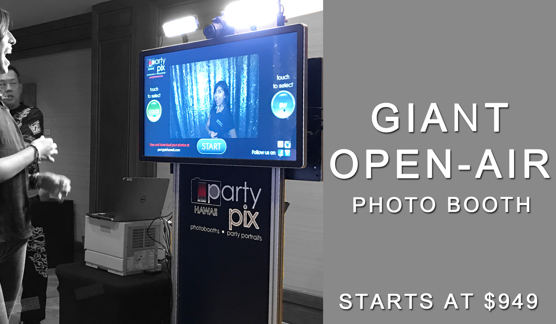 Giant Photo Booth